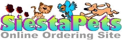 SiestaPets Online Ordering